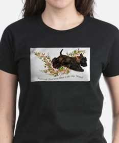 Unique Scottish terrier Tee