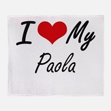 I love my Paola Throw Blanket