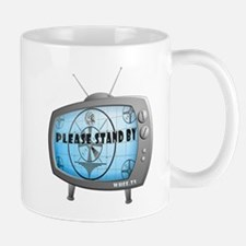 Please Stand By TV Mug