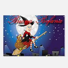 Buona Befana Itaian Christmas Witch Postcards (Pac