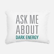 Dark Energy Rectangular Canvas Pillow