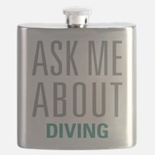 Ask Me About Diving Flask