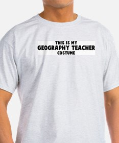 Geography Teacher costume T-Shirt