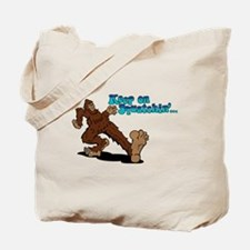 Cute Bear foot Tote Bag