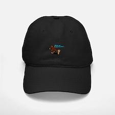 Cute Black bear Baseball Hat