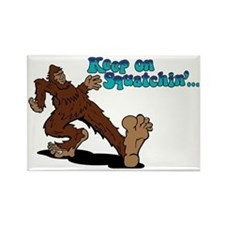 Cute The creature from the black lagoon Rectangle Magnet