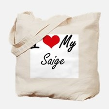 Cute Saige Tote Bag