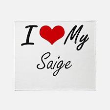 I love my Saige Throw Blanket