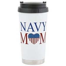 Unique Navy mom Travel Mug