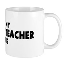 Economics Teacher costume Mug