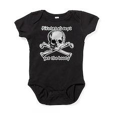 Funny Pirate Baby Bodysuit