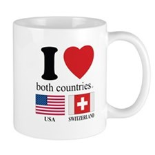 USA-SWITZERLAND Mug