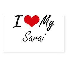 I love my Sarai Decal