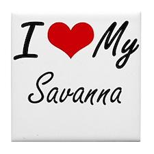 I love my Savanna Tile Coaster