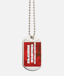Cool Red Dog Tags