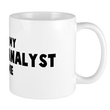 Financial Analyst costume Mug