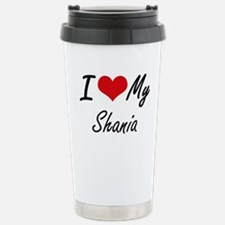 I love my Shania Stainless Steel Travel Mug