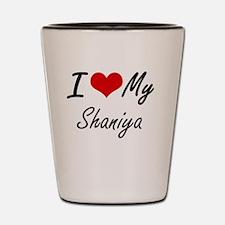 Funny Shaniya Shot Glass
