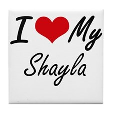 I love my Shayla Tile Coaster