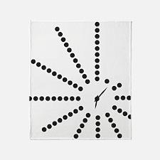 Unique Morse code Throw Blanket