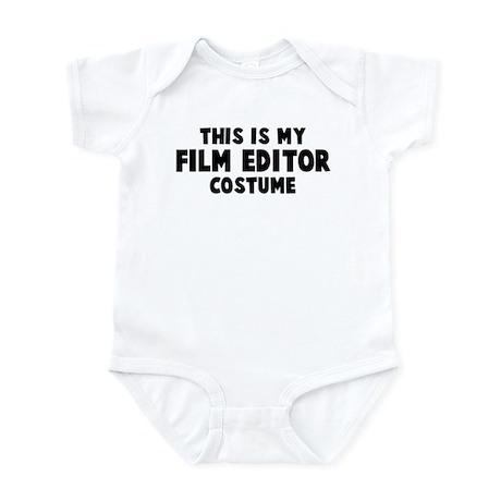 Film Editor costume Infant Bodysuit