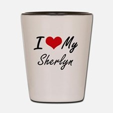 I love my Sherlyn Shot Glass