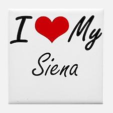 I love my Siena Tile Coaster
