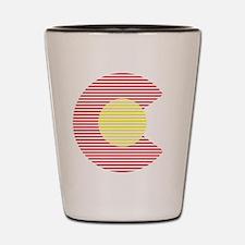 colorado c Shot Glass