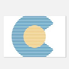 colorado circle Postcards (Package of 8)