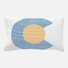 colorado circle Pillow Case