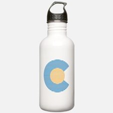 colorado circle Water Bottle