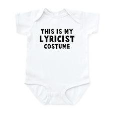 Lyricist costume Infant Bodysuit