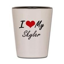 Cute Skyler Shot Glass