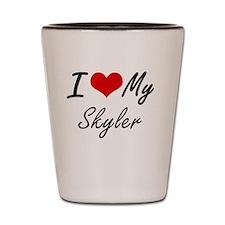 Unique Skyler Shot Glass
