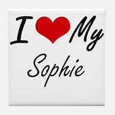 I love my Sophie Tile Coaster