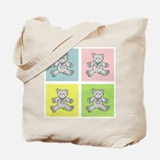 CUDDLY BEARS Tote Bag