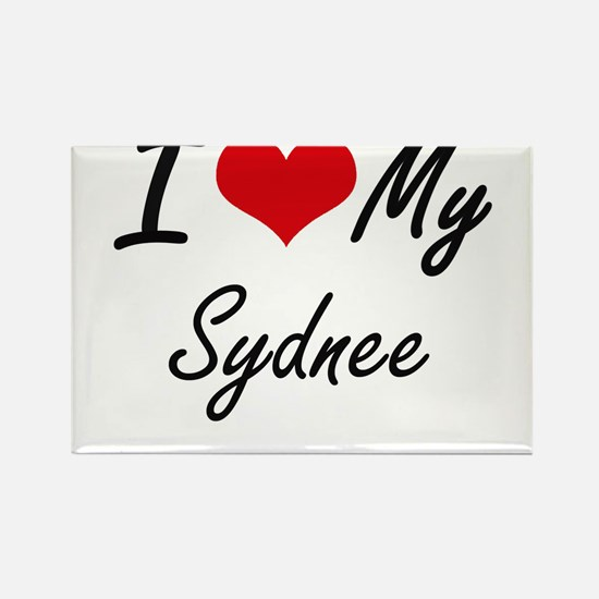 I love my Sydnee Magnets