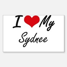 I love my Sydnee Decal