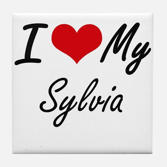 I love my Sylvia Tile Coaster