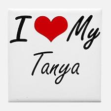 I love my Tanya Tile Coaster