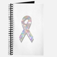 pearl lung cancer ribbon Journal