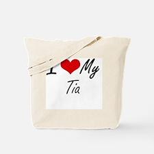 Cute Tia Tote Bag