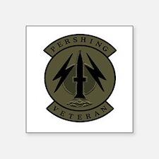 "Pershing Veteran (subdued) 3"" X Sticker"
