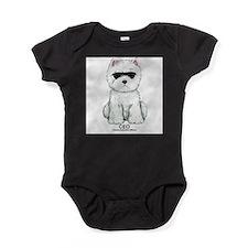 Funny Westie terrier Baby Bodysuit