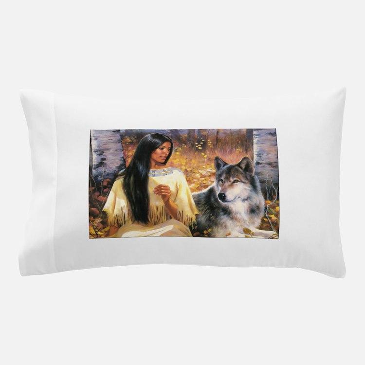 Grey Wolf.jpg Pillow Case