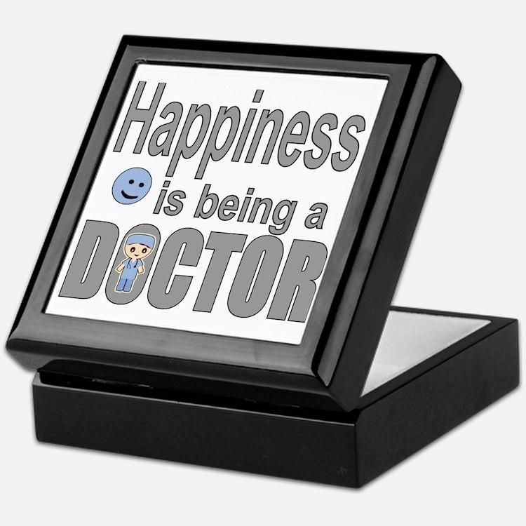 Cute Smiley face mens Keepsake Box