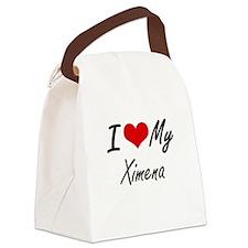 I love my Ximena Canvas Lunch Bag