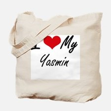 Funny Yasmin Tote Bag