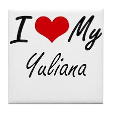 I love my Yuliana Tile Coaster