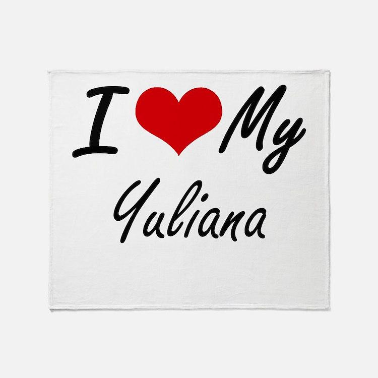I love my Yuliana Throw Blanket